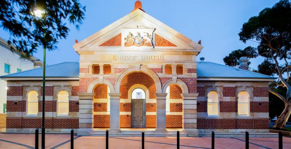 Old Mildland Court House following restoration and additions by the City of Swan